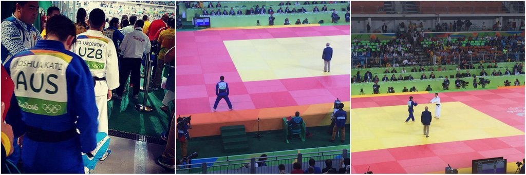 Josh Competing at Rio 2016